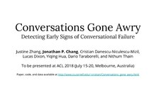 "PDF of ""Conversations Gone Awry"" with first page depicted"