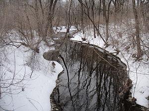 Coplay, Pennsylvania - Coplay Creek.