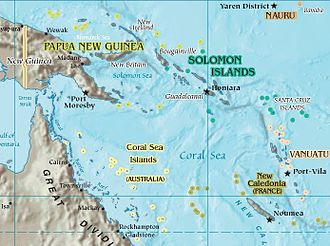 Operation RY - Image: Coral Sea
