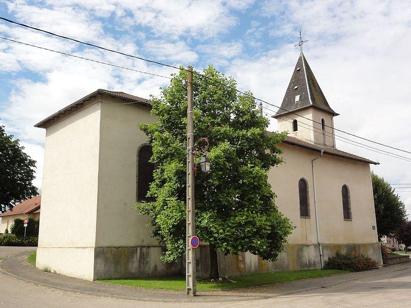 Courbesseaux (M-et-M) église