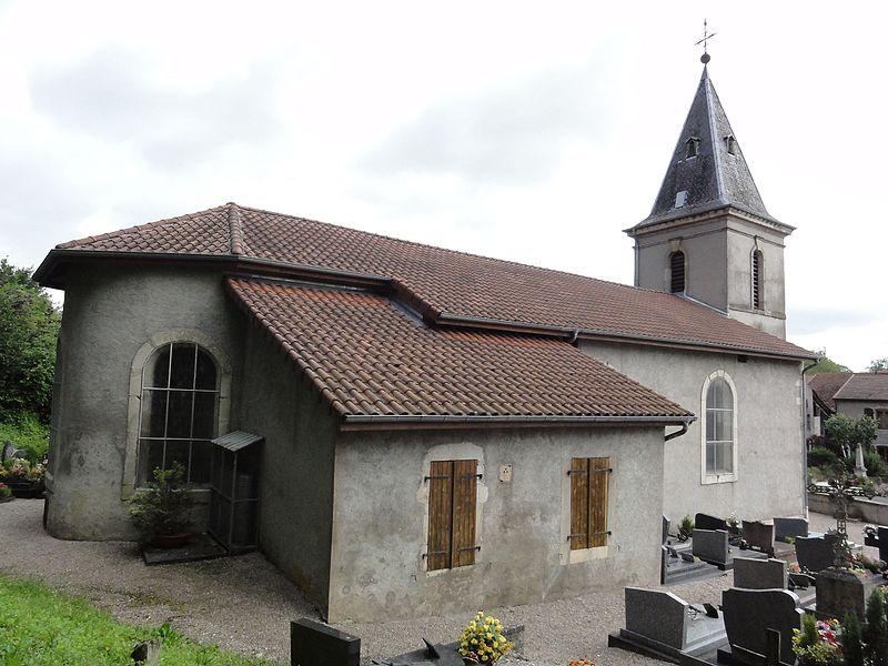 Crévéchamps (M-et-M) église