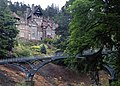 Cragside house and the Iron Bridge - geograph.org.uk - 1387553.jpg