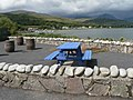 Craighouse, colourful picnic bench - geograph.org.uk - 915891.jpg