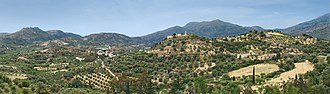 Zaros - Landscape around Zaros