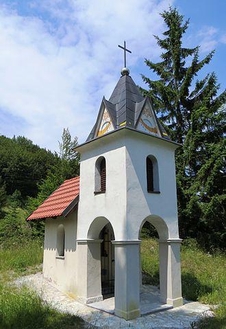 Črni Vrh, Idrija - Image: Crni Vrh Idrija Slovenia Kampeljc shrine