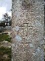 Croce incisa sul menhir Vicinanze 1.jpg
