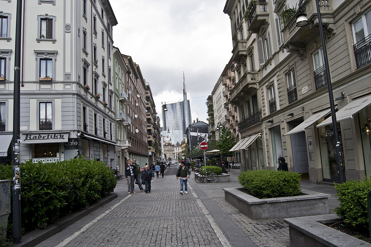 Corso garibaldi milano wikipedia - Milano porta garibaldi passante mappa ...
