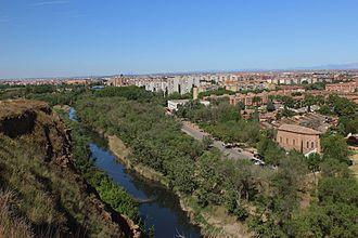 Henares - Henares River in Alcalá de Henares