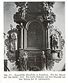 Cumehnen, evangelische Pfarrkirche, Altar von Joh. Pfeffer, 1676, Detail.jpg