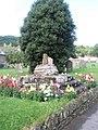 Curious plinth within St George's Churchyard - geograph.org.uk - 918987.jpg