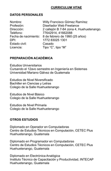 Curriculum Vitae Wikipedia La Enciclopedia Libre