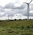 Cutting grass at wind farm - geograph.org.uk - 1430689.jpg