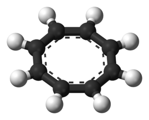 Cyclooctatetraene - Ball-and-stick model of COT2−