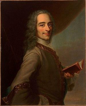 Maurice Quentin de La Tour - Image: D'après Maurice Quentin de La Tour, François Marie Arouet, dit Voltaire (château de Versailles)