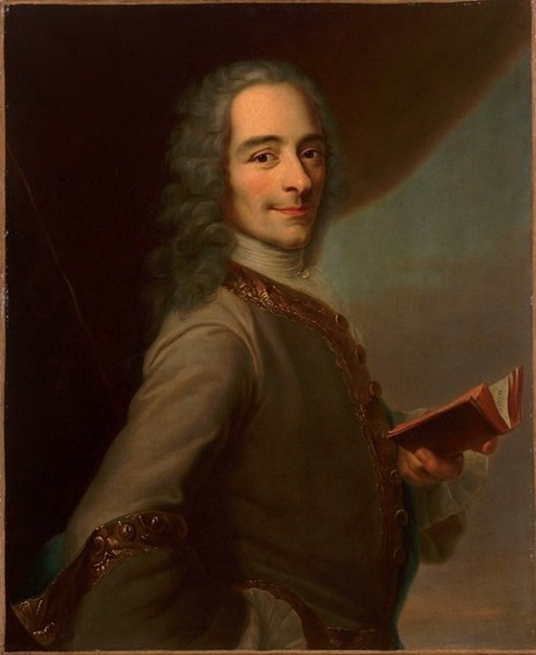 a biography of francois marie arouet pen name voltaire