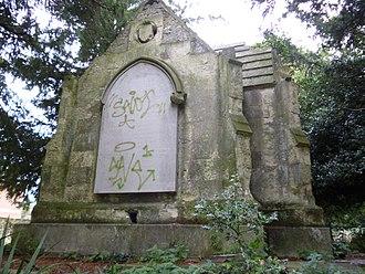 Augusta Emma d'Este - The d'Este Mausoleum, St Laurence Churchyard, Ramsgate.