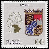 DBP 1992 1587 Wappen Bayern.jpg