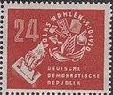 DDR-Briefmarke Wahlen 1950 24 Pf.JPG
