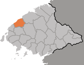 Location of Ŭiju County
