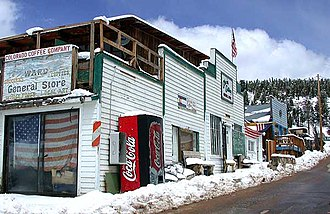 Ward, Colorado - Businesses in Ward