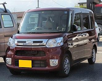 Daihatsu Tanto - Image: Daihatsu Tanto X Turbo SA