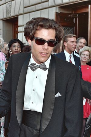 Dana Ashbrook - Ashbrook arriving at the 43rd Primetime Emmy Awards in August 1991.