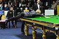 Daniel Wells, Jurgen Gruson and Neil Robertson at Snooker German Masters (DerHexer) 2013-01-30 02.jpg