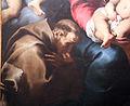 Daniele crespi, madonna col bambino in gloria adorata da i ss. francesco, carlo borromeo e un donatore, 1620-30 circa, da cappella sottocasa a bg 03.JPG