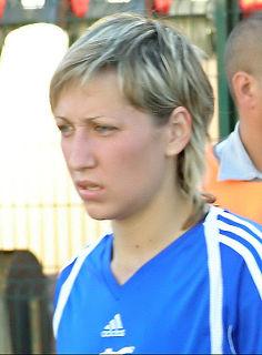 Elena Danilova Footballer