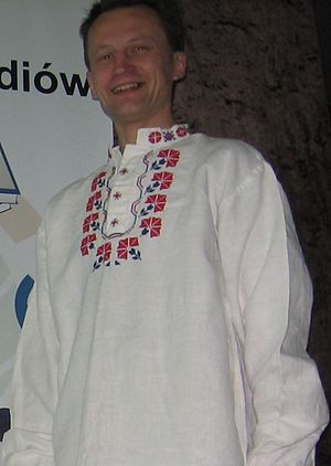 Culture of Belarus - Traditional Belarusian shirt