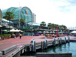 Darling harbour sydney showing harbourside.jpg