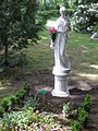 Das Grab Manfred Kiedorfs.JPG