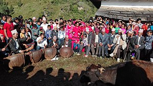 Rolpa District - Dashain Mela is celebrated in Rolpa Gajul kot which is located in Gajul Rolpa.