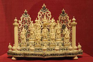 Ivory Carved Dashavtar