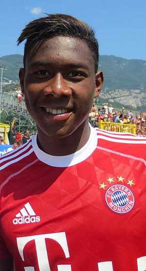 Afro-Asians - Austrian footballer David Alaba is of Nigerian and Filipino descent.