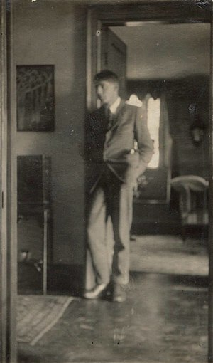David Garnett - Lady Ottoline Morrell (1873-1938),vintage snapshot print/NPG Ax140447. David Garnett, 1920