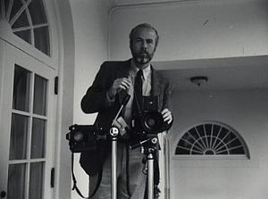 David Hume Kennerly - Kennerly at the White House in 1981