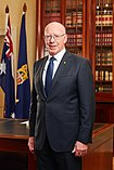Portrait photo of Governor-General David Hurley