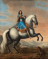 David Klöcker Ehrenstrahl - King Charles XI of Sweden riding a horse.jpg