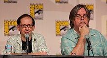 I produttori della serie animata, David X. Cohen e Matt Groening