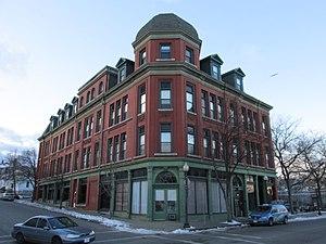 Dawson Building - Image: Dawson Building, New Bedford MA