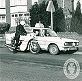 Day 147 - West Midlands Police - Archived photograph of police bike & car.jpg