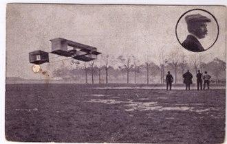 Pierre de Caters - Voisin de Caters the Antwerp Aviation Week 1909.
