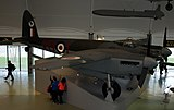 De Havilland Mosquito, Royal Air Force Museum, Hendon. (23427527892).jpg