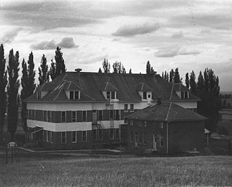 National Register of Historic Places listings in Benewah County, Idaho - Image: De Smet mission school 1 De Smet Idaho