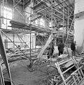 De binnenzijde van de synagoge te Arnhem met steigers, tijdens restauratie - Arnhem - 20350270 - RCE.jpg