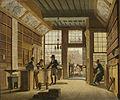 De winkel van boekhandelaar Pieter Meijer Warnars op de Vijgendam in Amsterdam Rijksmuseum SK-A-662.jpeg