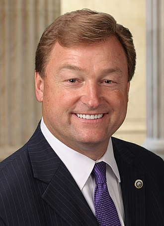 2018 United States Senate election in Nevada - Image: Dean Heller, official portrait, 114th Congress (cropped)