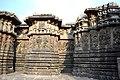 Decorated outer walls Hoysaleswara Temple Halebid (2).jpg