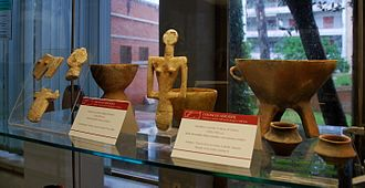 Nuragic civilization - Bonnanaro pottery